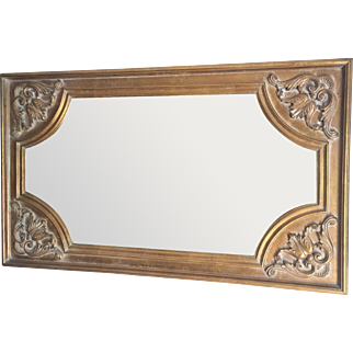 Vintage Giltwood and Composition Mirror.