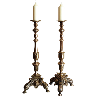Baroque Style Candlesticks