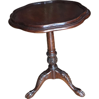 Mahogany Chippendale Style Table