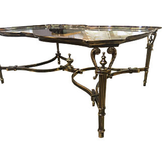Italian, Hand Made Solid Brass Table