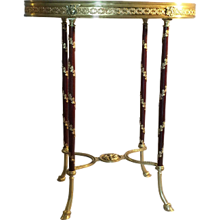 French, 19th century Louis XVI style side table.
