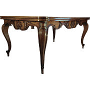 French 19C Oak Dining Table