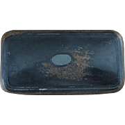 Lacquered Wood Snuff Box - Circa 1840