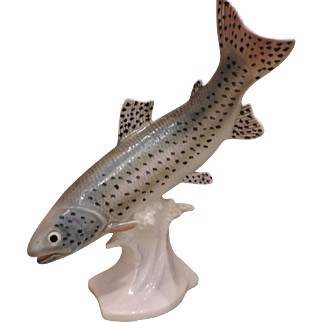 MINT 1960's Large Goebel Rainbow Trout CS 212