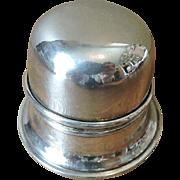 Birks Regency Plate Mid Century Silver Plate Ring Box - No Engraving