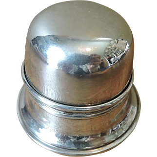 Birks Regency Plate Mid Century Silver Plate Ring Box - No Engraving