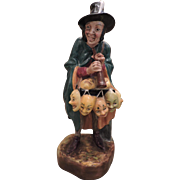 """Royal Doulton Figurine """"The Mask Seller"""" HN 2103 - Dated 1952"""