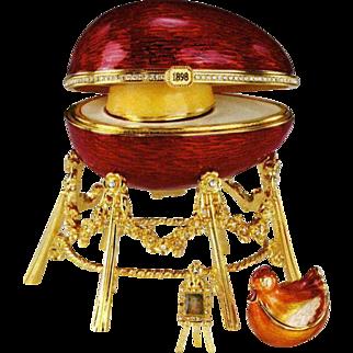 Faberge Kelkh Hen Egg - Signed by Tatiana Faberge