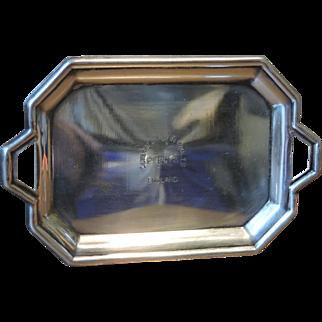 Percy's London Silver Vaults Souvenir Tray