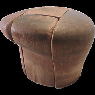 Vintage Wood Hatmakers' Block - 5 Piece - Killian Newsboy Hat