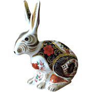Royal Crown Derby Old Imari Hare, Limited Edition of 500