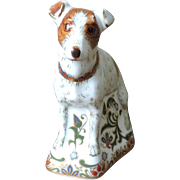 Royal Crown Derby Parson Jack Russell Terrier Paperweight