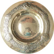 Scottish Celtic arts & crafts / craftsman brass charger 1900