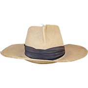 Original Knox brand genuine Panama straw hat