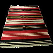 Hand Knotted Anatolian Rug(Kilim) from Konya Region of Turkey