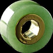 SENZANOME Jade Coin Collections. Piece 001-082 Certified Jadeite Jade