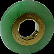 SENZANOME Jade Coin Collections. Piece 001-083 Certified Jadeite Jade
