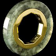 SENZANOME Jade Coin Collections. Piece 002-052 Certified Jadeite Jade