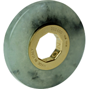 SENZANOME Jade Coin Collections. Piece 002-060 Certified Jadeite Jade