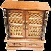 Artistic Jewelry Box in rare Size and Design