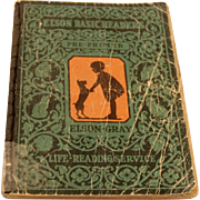 1930 Elson Gray Basic Reader Rare First Dick And Jane Book Pre-Primer
