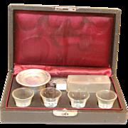 Amazing 1930s  Traveling, Portable Communion Set