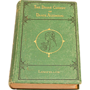 "Antique ""The Divine Comedy of Dante Alighieri"""