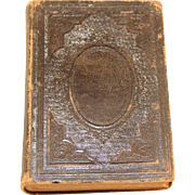 Antique 1868 Holy Bible.  American Bible Society