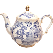 Gorgeous Blue Sadler Teapot