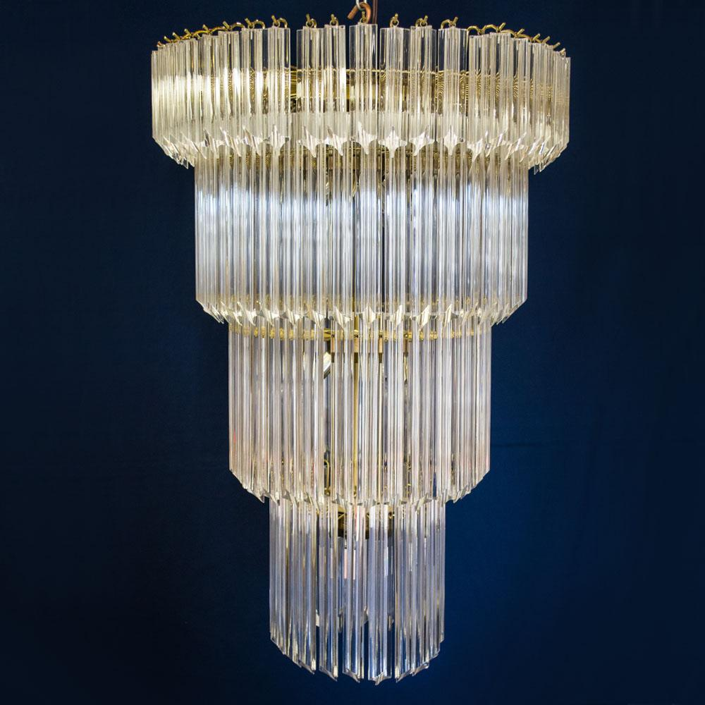 1960s american lucite acrylic cascading chandelier from the from roll over large image to magnify click large image to zoom arubaitofo Images