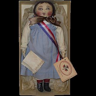"1993 UFDC * ""Emma"" Columbian Centennial Doll* by Rappahannock Rags"