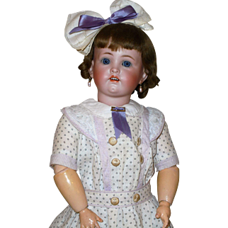 """Fabulous Hard to Find *19"""" German Character Child #600* by Simon & Halbig"""