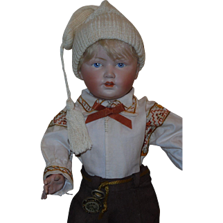 Wonderful Painted Eye *Character Child~mold #179* by Kestner
