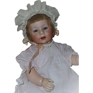 "Wonderful 15"" *German Bisque Character Baby #233* by Armand Marseille"