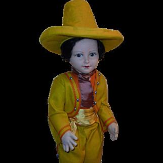 """Fabulous Felt Doll *30"""" Spanish Boy* by Norah Wellings"""