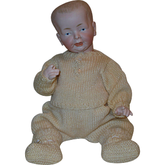 "15"" German Bisque *Character Baby* by Fritz Bierschenk"