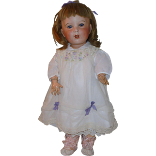 """23"""" Antique *Unis France 251 Toddler* French Bisque Doll"""