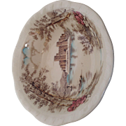 Alfred Meakin Queens Castle pattern trinket bowl