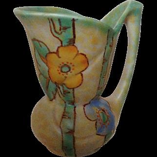 Vintage Crown Devon Floral Jug