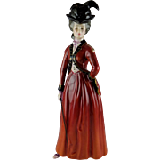 Rare Royal Doulton Figurine The Reynolds Ladies, Lady Worsley HN 3318  Limited Edition
