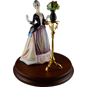 Royal Doulton Figurine The Gentle Arts Collection - Flower Arranging HN3040 Limited Edition