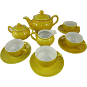 Vintage Child's China Tea Set for Four ~ 13 pieces