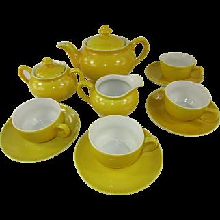 Vintage Child's China Tea Set for Four ~ 13 pieces