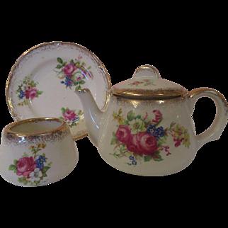 Child's Miniature Vintage English Wedgwood Tea Set