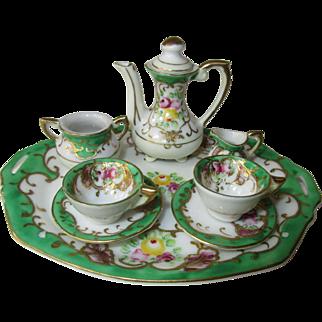 Elegant Miniature Tea/Coffee Set for Dolls ~ 8 pieces