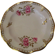 """8 Royal Crown Derby  6"""" Side/Butter Plates - 'Royal Pinxton Roses'"""