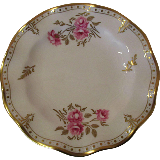 "Royal Crown Derby 'Royal Pinxton Roses' 6"" Side/Butter Plates - Set of 8"
