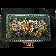 Antique Italian Micromosaic Micro Mosaic Millefiori Paperweight Paris c1900