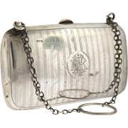Antique Sterling Silver Coin Purse, Birmingham Hallmarked 1912