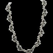 "Vintage Danecraft Sterling 15 1/2"" Acorn Necklace"